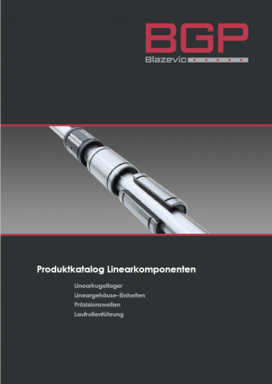 BGP shafts and linear bearings (GER)