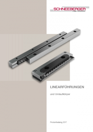 Linear bearings and recirculating units (EN)
